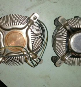 Кулеры с вентиляторами