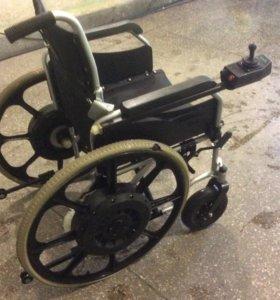 Каляска инвалидная с эл. Приводом.