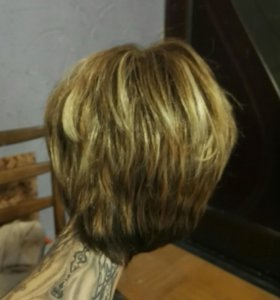 Натуральный парик.