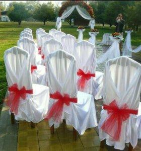 Свадьба чехлы-накидки для стульев