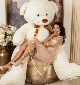 """Плюшевый медведь """"Мишка Алекс"""", гигантский 250 см."""