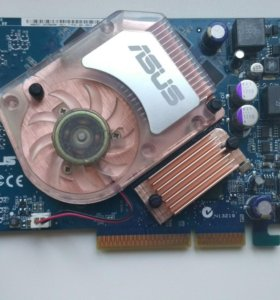 Видеокарта ASUS NVidia GeForce 6600GT 128MB (AGP)
