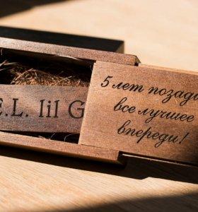 USB из дерева