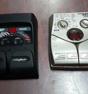 Процессор эффектов DigiTech RP55 и zoom 505-2 guit