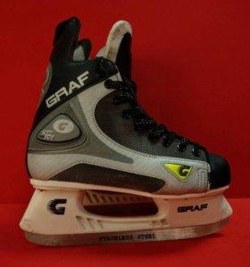 Хоккейные коньки Graf Super 101 (40 размер)
