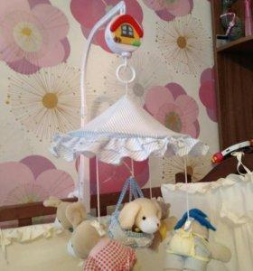 Кровать для малышей в полном комплекте