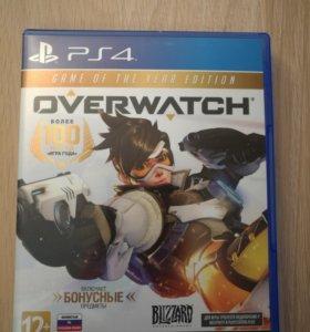 Игра Overwatch для ps4