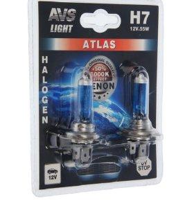 Галогеновая лампа AVS ATLAS 5000K H7 12V 55W