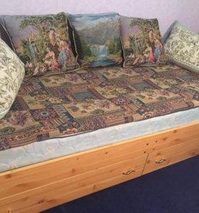 Кровать односпольная