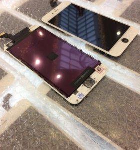 Дисплей iPhone 6 Plus белый модуль в сборе