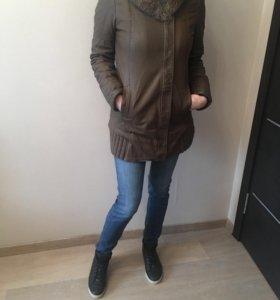 Куртка кожаная, утеплённая Patricia Pepe