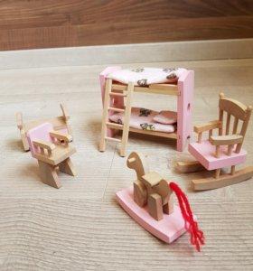 """Мебель для кукол """"Детская"""""""