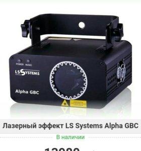 Светомузыка LS SYSTEMS ALPHA GBC