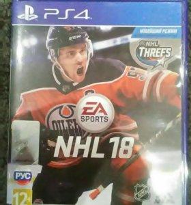 Продам NHL 18 для PS4