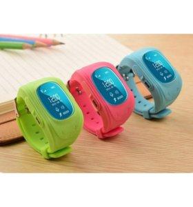 Умные часы телефон для детей с GPS Q50