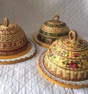 Хлебницы ручной работы