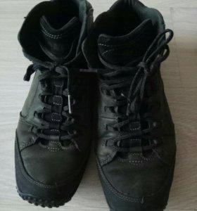 Мужские кожаные ботинки 43р