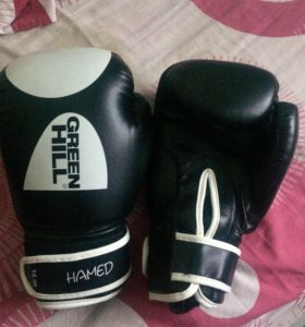 Боксёрские перчатки GREEN HILL HAMED 14oz