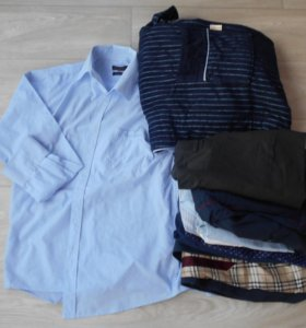 Рубашки, костюм, халат на мужчину размер М