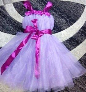 Платье фатиновое , новое