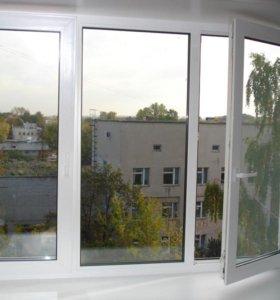 Пластиковые окна, балконы, лоджии.