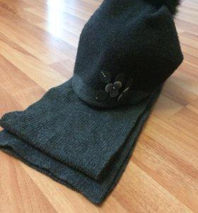 Шарф и шапка