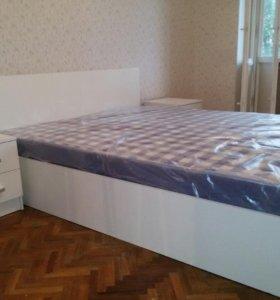 Новая Кровать Аделия белая 180.В наличии!