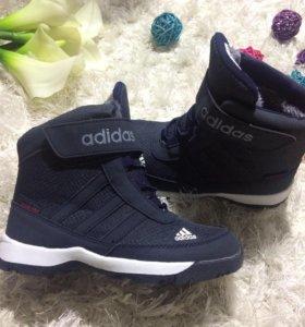 Зимние ботинки .33 и 34