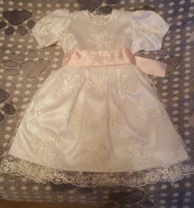 Праздничное платье 1,5-4 года