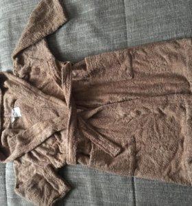 Новый Детский махровый халат 110-56