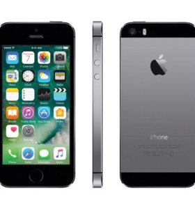 Apple iPhone 5S, Space Gray, 16GB