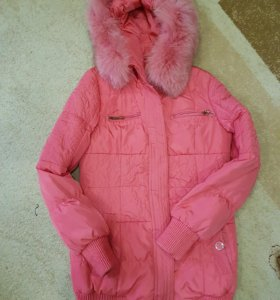 Куртка очень тёплая.