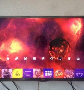 Телевизор Lg 32lb650v smart 3D