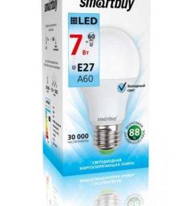 Лампа светодиодная Smartbuy 7W E27