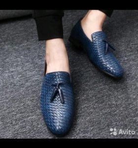 Мужские туфли. Туфли. Ботинки. 46 размер