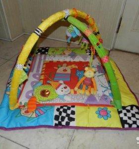 Развивающий коврик 2 в 1 Taf Toys