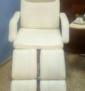 Кресло педикюрное трансформер кушетка