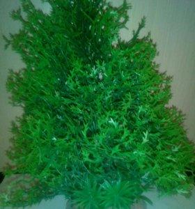 Искусственное растение для аквариума.