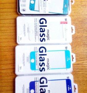 защитные стёкла для iphone 5/5s