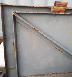Ворота + калитка металл бу
