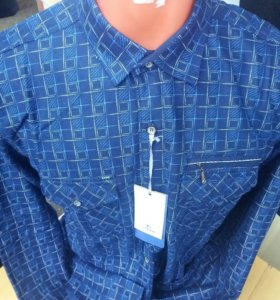 Рубашки муж.утепленные все размеры