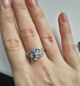 Серебряные кольца 3шт, 925
