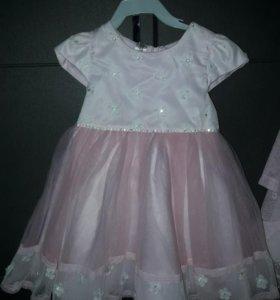платье Санта-Барбара ,размер 92