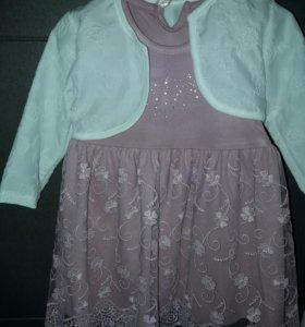 платье новое,размер 86-92