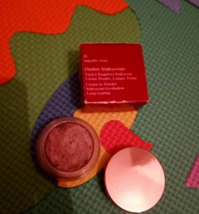 ☑ Тени CLARINS 01 Aquatic rose
