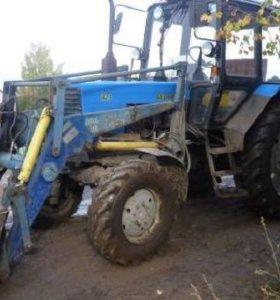 Услуги трактором мтз