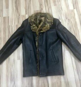 Куртка дубленка мужская натуральная