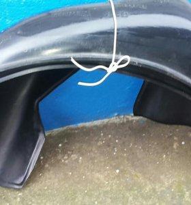 Подкрылки(защита) передние на Приору