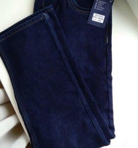 Новые утеплённые мужские джинсы