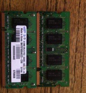 Оперативная память Samsung 512 MB